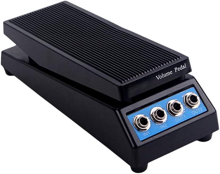 SUPVOX Guitarra Estéreo Sonido Pedal de volumen 4 canales ...