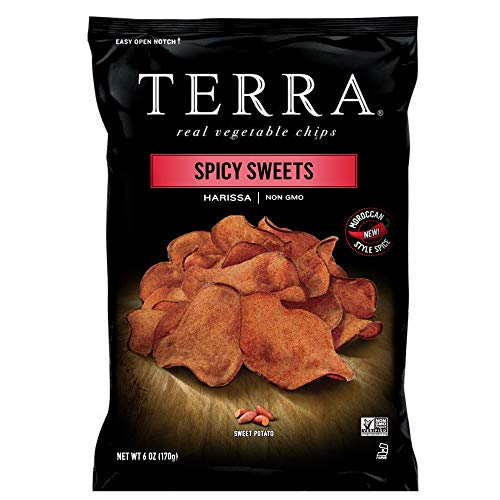 TERRA Spiced Sweet Potato Chips, 6 oz. (Pack of 12)