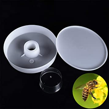 Beekeeper Beekeeping 4 Pints 2L Rapid Bee Hive Feeder Keeping Equipment Tool US