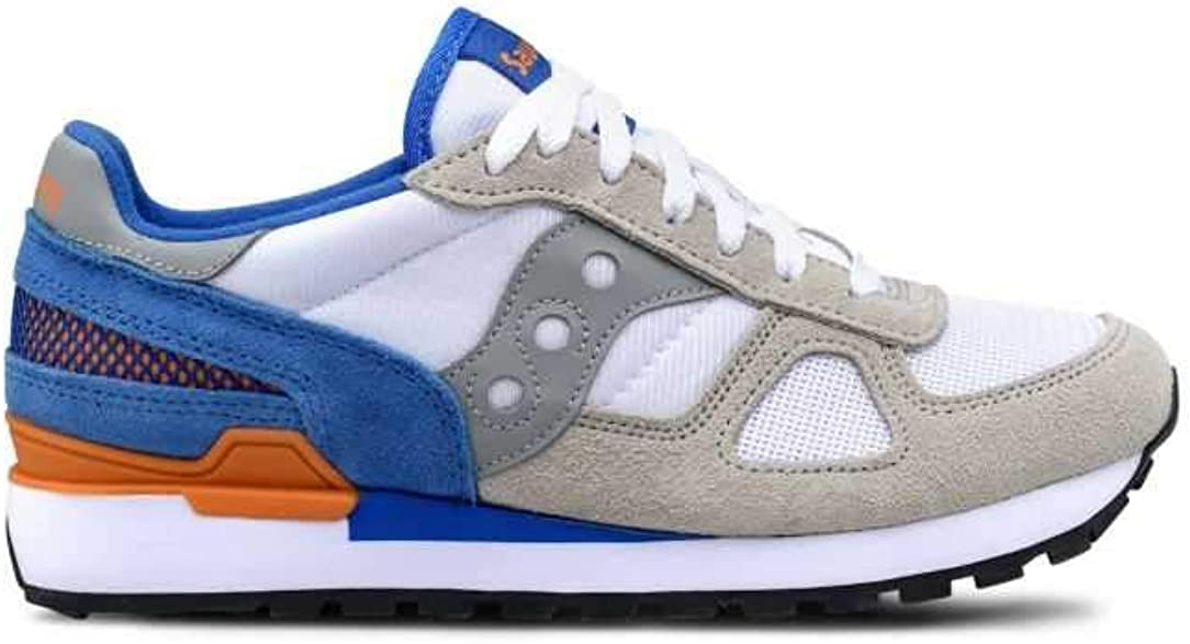 Saucony Baskets Fitness Pour Homme Grey Yellow White