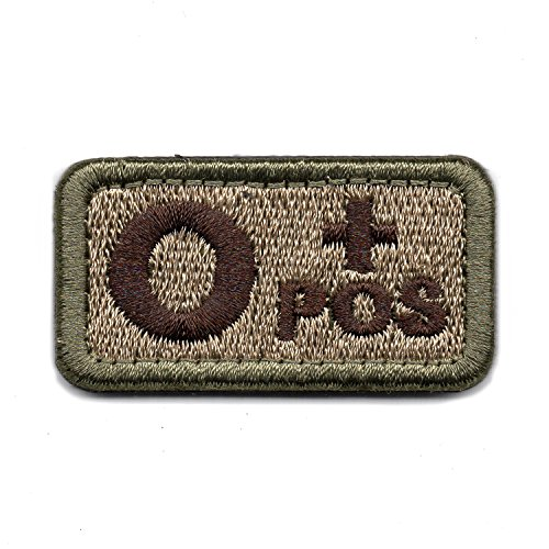 Expert choice for blood type patch velcro o pos