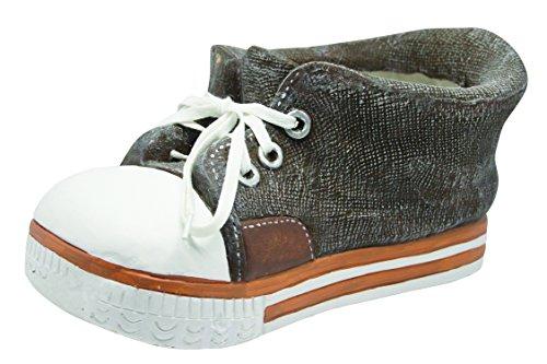 Alpine QFC156BR Sneaker Planter, Brown