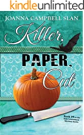 Killer, Paper, Cut: Book # 9 in the Kiki Lowenstein Mystery Series (A Kiki Lowenstein Scrap-N-Craft Mystery)