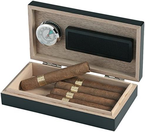 Zigarrenschachtel mit Befeuchtungssystem