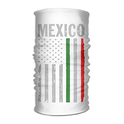 American Flag Mexico Changed Headscarf Bandanas Face Masks Protect You From Sun, Wind And Dust For Men&women
