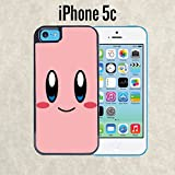 kirby phone case 5c - iPhone Case Cartoon Girl Cute Kirby LOL for iPhone 5c Black 2 in 1 Heavy Duty (Ships from CA)