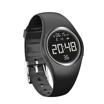 Reloj inteligente, ERVL924 IP68 impermeable reloj inteligente, 3D podómetro control de calorías fitness reloj inteligente pulsera: Amazon.es: Bricolaje y ...