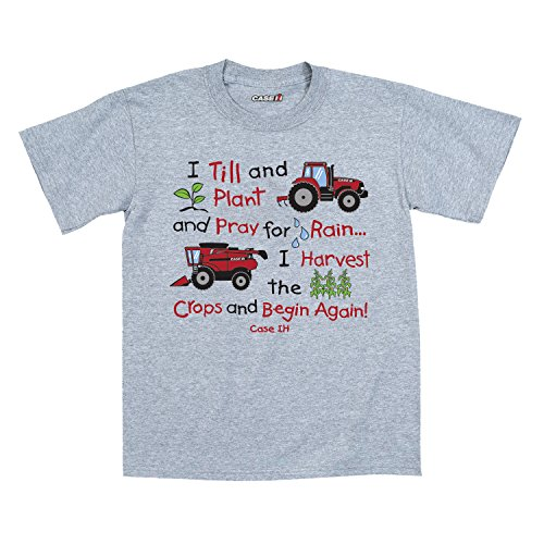 Case IH Farm I Till and Plant and Pray-Toddler T-Shirt