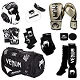 Venum Challenger 2.0 MMA Training Bundle, Gold