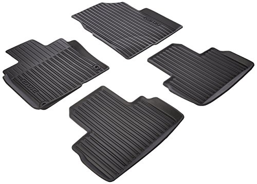 Genuine Honda 08P17-TBA-300 All Season Floor Mats-High Wall