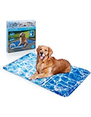 AFP Pet Cooling Mat Dog Cooling Pad Self Cooling Cushion Keeping Pets Cool Summer Sleeping Mat 90 x 60CM (L)