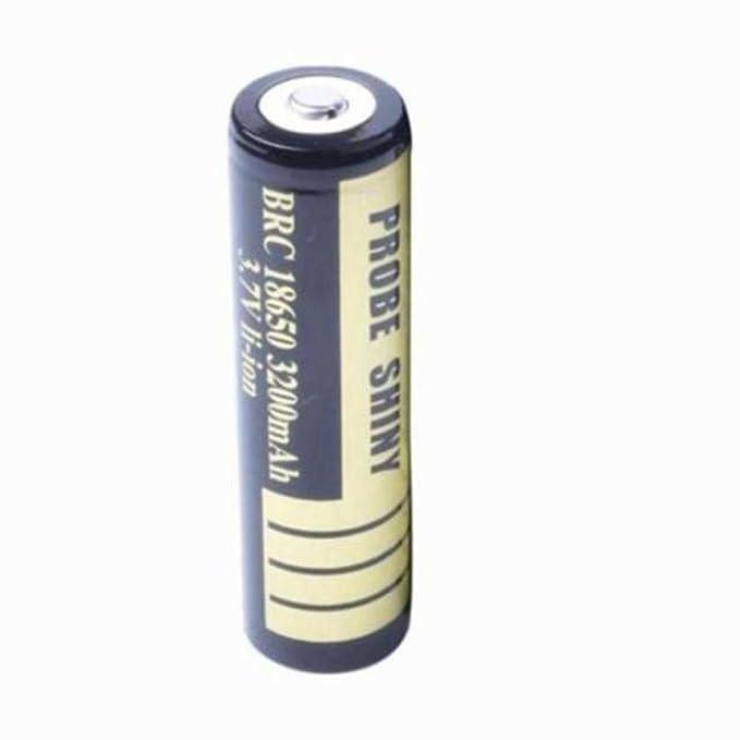 OverDose Linterna táctica Policía zoomable X800 XML T6 LED + 18650 + cargador + Caso (Negro)