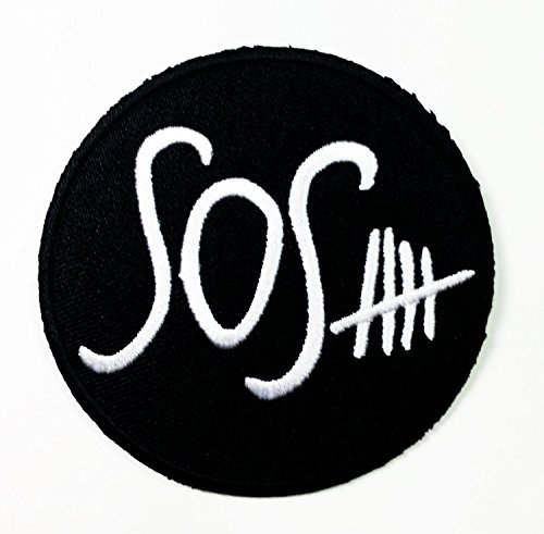5 Seconds of Summer Patches 5sos Australian Pop Rock Sewing or Iron on Patch TRPLE H