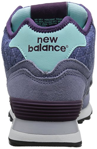 New Balance Womens Wh574 Speelse Pack Klassieke Loopschoen Paars