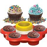 AMAV Cupcake Maker Toy Activity Set Using Microwave Baking - DIY Make Your Own Delicious Treat - Edible Sweet Art