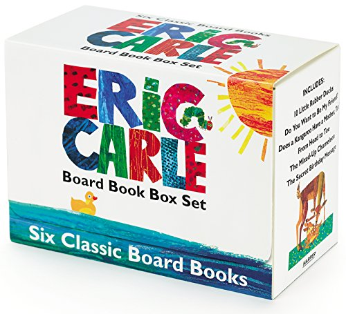 Eric Carle Six Classic Board Books Box Set (World of Eric -