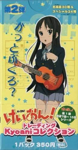 K-ON! Trading Card Vol.2 [Yui/Mio/Ritsu/Azusa/Tsumugi] (20pcs) - Japanese Animation Anime Free Ship