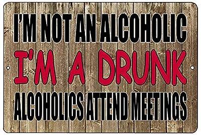 USAL Rogue River Tactical Funny Sarcastic Drinking Metal Tin Sign Wall Decor Man Cave Bar Beer Alcoholic Drunk
