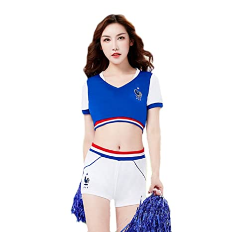 79ff061bf1c Amazon.com : Xcfypiao Cheerleader Fancy Dress, Girl Cheerleading ...