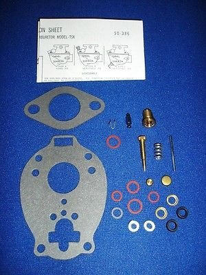 Lincoln Welder Sa-200 Redface Shorthood Marvel Schebler Tsx Carburetor Kit