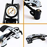 Air Pump Floor Foot Activated For Inflating Pools Bike Tires Bicycle Tubes ...