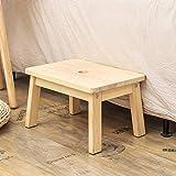 HOUCHICS Solid Pine Step Stool Wooden Kids Potty
