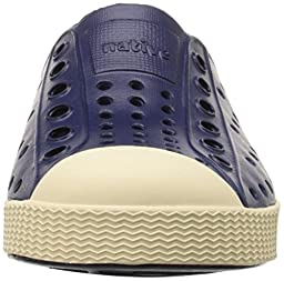 Native Jefferson Slip-On Sneaker,Regatta Blue,9 M US Toddler