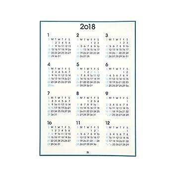 伊東屋 2018 ポスターカレンダー A2 縦