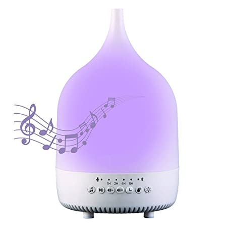 TJUAN Soothing Noise Essential Aroma Oil Diffuser Bluetooth
