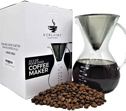 Verlaine Coffee 30 Ounce Pour Over Coffee Maker