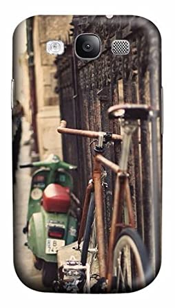 Retro bicicleta y patinete Hipster portadisco policarbonato ...