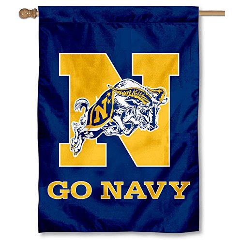 College Flags and Banners Co. Navy Midshipmen Go Navy 28