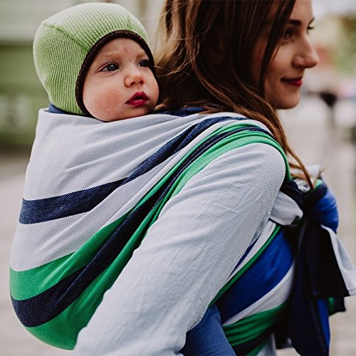 DIDYMOS Woven Wrap Baby Carrier Marie (Organic Cotton), Size 6 (470 cm) ()