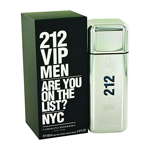 (Carolina Herrera 212 Vip 3.4 oz Eau De Toilette Spray for Men)