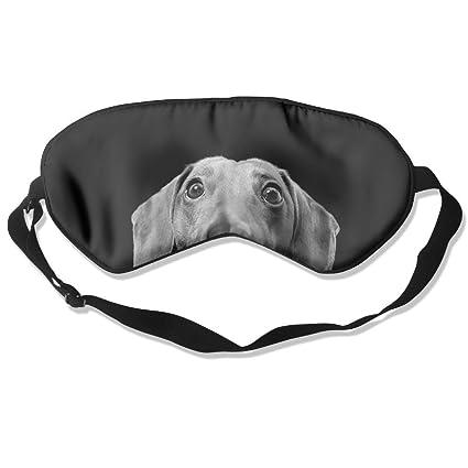Amazon Best Bags Sleep Eyes Masks Black Dog Pattern Sleeping New Dog Sleep Pattern