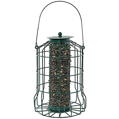 Sunnydaze Inch Green Squirrel Proof Feeder product image