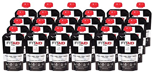 LifeAid Beverage Company FitAid Fuel Sweet Potato/Tart Apple 24-4 oz. Fuel Pouch by LIFEAID
