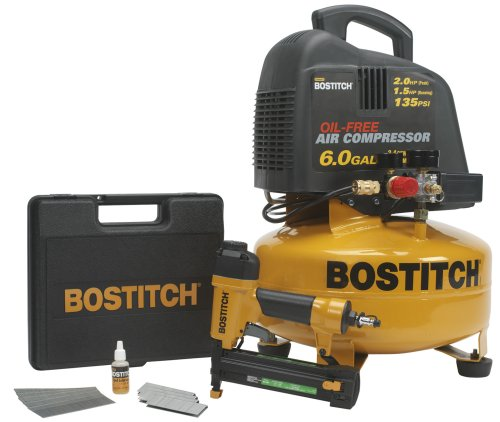 Factory-Reconditioned BOSTITCH U/CPACK1 2-in-1 Brad Nailer/Narrow Crown Stapler Tool and Compressor