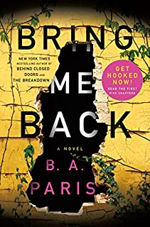 Book Cover: Bring Me Back
