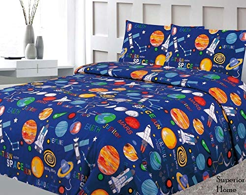 Sapphire Home Planets Rockets Multicolor product image