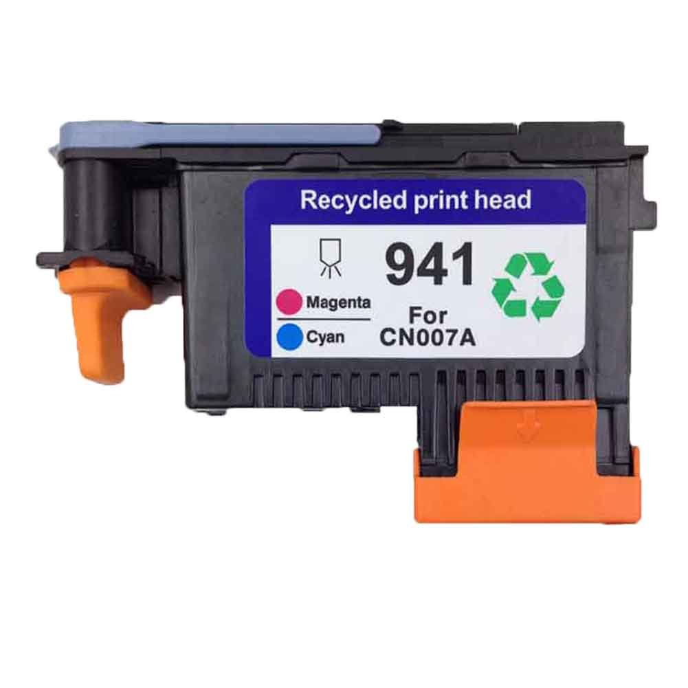 Caidi® Regeneration Druckkopf HP940 C4900A C4901A kompatibel für Officejet Pro 8000 8500 8500A 8500A Plus 8500A Premium Drucker (1x Druckkopf +Tintenpatronen) CP940-DE