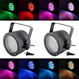IWISHLIGHTTM 86 RGB Color LEDs Stage Light Par Dmx Lighting Projector Party Disco Pub KTV Club Party Dj Lamp (2)