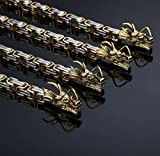 Master Hand sanding Titanium dragon bracelet outdoor hand chain