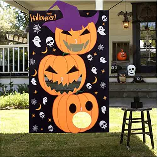 Admirable Halloween Decorations Halloween Games For Kids Party Favor 3 Onthecornerstone Fun Painted Chair Ideas Images Onthecornerstoneorg