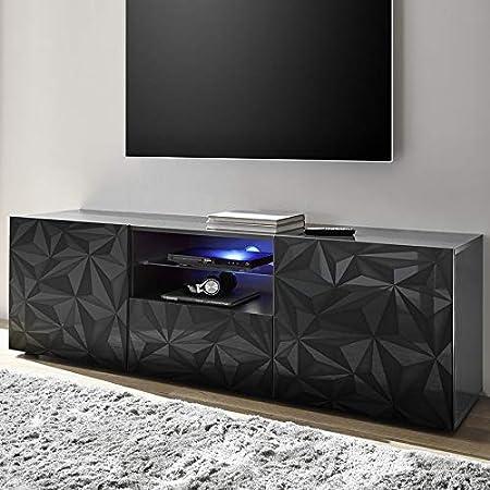 Kasalinea Nino 2 - Mueble para televisor, Color Gris Lacado: Amazon.es: Hogar