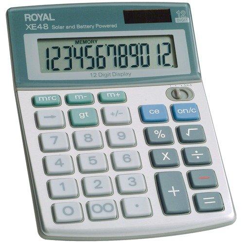 Royal Compact Desktop Solar 12-digit Calculator (Royal Desktop Compact)