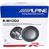 Alpine R-W12D2 12 Dual 2 OHM Type-R 2250W Pro Loud Subwoofer Speaker Sub