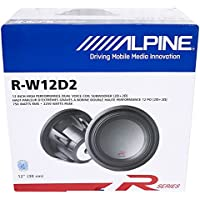 Alpine R-W12D2 12 Dual 2 OHM Type-R 2250W Pro Loud Subwoofer Speaker Sub