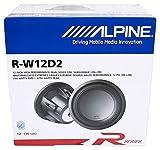alpine subwoofer type r in box - Alpine R-W12D2 12