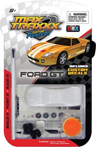 Max Traxxx Custom Painters 1:64 Scale Ford Mustang GT Mini Model Kit ()